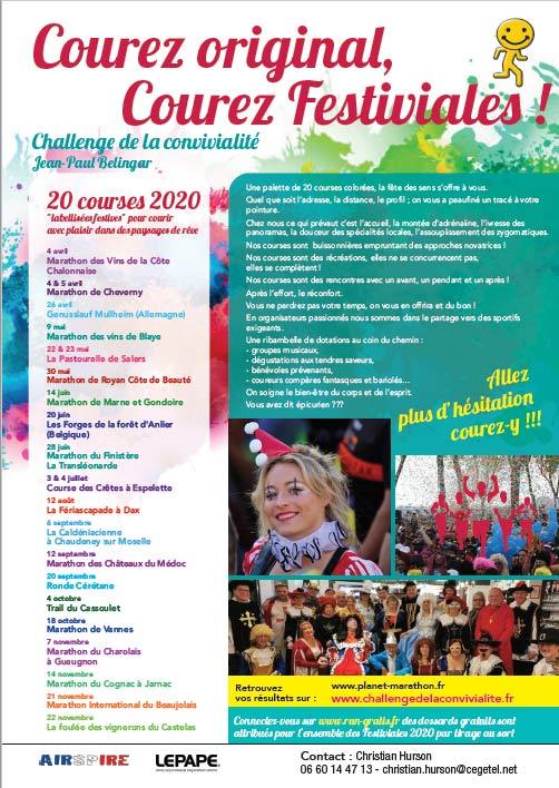 festiviales 2020 challenge de la convivialité